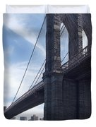 Brooklyn Bridge Duvet Cover by Mike McGlothlen
