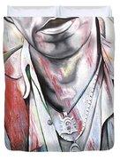 Bruce Springsteen Duvet Cover by Joshua Morton