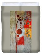 Bubble Tree - Ls55 Duvet Cover by Variance Collections