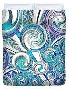 Bubbles Duvet Cover by Anastasiya Malakhova