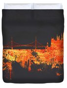 Budapest Hungary Duvet Cover by Aged Pixel