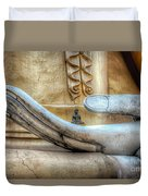 Buddha's Hand Duvet Cover by Adrian Evans