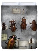 Bug Collector - The insect Collection  Duvet Cover by Mike Savad
