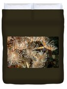 Bunch Of Dusters Duvet Cover by Jean Noren