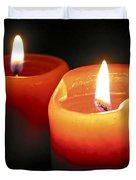 Burning candles Duvet Cover by Elena Elisseeva
