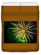 4th Of July Fireworks 6 Duvet Cover by Howard Tenke