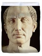 Bust of Julius Caesar Duvet Cover by Anonymous