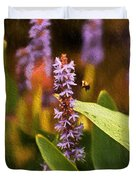 Busy Bee Duvet Cover by Richard Rizzo