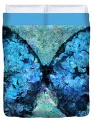 Butterfly Art - D11bl02t1c Duvet Cover by Variance Collections