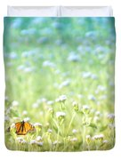 Butterfly Dreams Duvet Cover by Holly Kempe