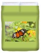 Butterfly Wings Duvet Cover by Anne Gilbert