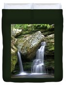 By The Kings River Duvet Cover by Marty Koch