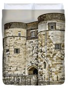 Byward Tower Duvet Cover by Heather Applegate