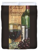 Cabernet Sauvignon Duvet Cover by Debbie DeWitt