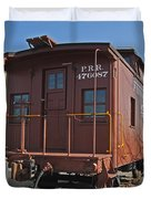 Caboose Duvet Cover by Skip Willits