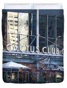 Cactus Club Cafe II Duvet Cover by Chris Dutton