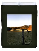 Cades Cove Duvet Cover by Skip Willits