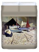 Cadgwith The Lizard Duvet Cover by Eric Hains