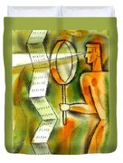 Calculation Duvet Cover by Leon Zernitsky