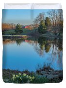 Calm Evening Duvet Cover by Bill  Wakeley
