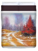 Canadian Calm Duvet Cover by Matthys Moss