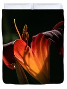 Candle In The Wind Duvet Cover by Donna Kennedy