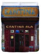 cantina Ala Duvet Cover by Guido Borelli