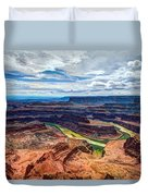 Canyon Country Duvet Cover by Chad Dutson