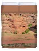 Canyon De Chelly From White House Ruins Trail Duvet Cover by Christine Till