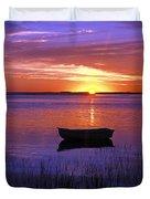 Cape Cod Sunrise Duvet Cover by John Greim