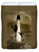 Cape Florida Lighthouse Duvet Cover by Skip Willits