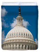 Capital Dome Washington D C Duvet Cover by Steve Gadomski