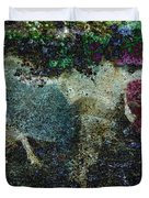 Capricorn Abstract Duvet Cover by Sarah Vernon