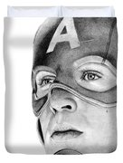 Captain America Duvet Cover by Kayleigh Semeniuk