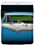 Car - Victoria 56 Duvet Cover by Mike Savad