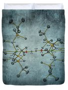 Carbon The Element Of Life Duvet Cover by Dan Sproul