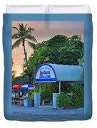 Caribbean Club Key Largo Duvet Cover by Chris Thaxter
