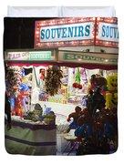 Carnival Souvenirs Duvet Cover by Jason O Watson