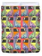 Cars Abstract  Duvet Cover by Mark Ashkenazi