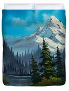 Cascading Falls Duvet Cover by C Steele