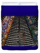 Catedral Metropolitana Do Rio De Janeiro Duvet Cover by Barbie Corbett-Newmin