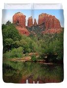 Cathedral Rock 1 Duvet Cover by Ellen Henneke