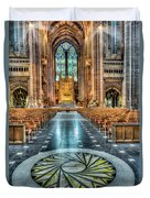 Cathedral Way Duvet Cover by Adrian Evans