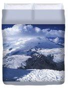 Caucasia Elbrus Duvet Cover by Unknown