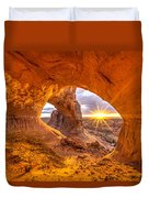 Cave Arch Duvet Cover by Dustin  LeFevre