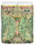 Celestial Map Duvet Cover by Gary Grayson