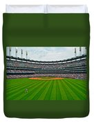 Center Field Duvet Cover by Frozen in Time Fine Art Photography