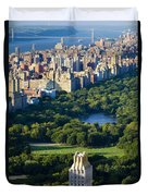 Central Park Duvet Cover by Brian Jannsen