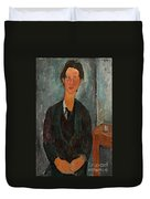 Chaim Soutine Duvet Cover by Amedeo Modigliani