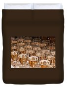 Champagne 02 Duvet Cover by Rick Piper Photography
